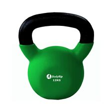 BodyRip Neoprene Kettlebell 12Kg Kettlebells Exercise Fitness Training Gym