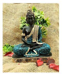 buddha showpiece big size black for home decor gautam buddha statue dec