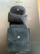 Cartier travel service pouches finished in grey GENUINE