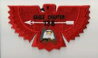 Boy Scout OA Lodge 138 Ta Tsu Hwa Eagle Chapter Dues Flap