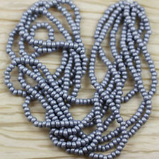 PICK  YOUR COLOR - 6/0 MATTE PEARL COLORS CZECH SEED BEADS - 70grams