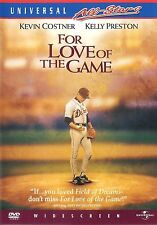 For Love of The Game ~ Kevin Costner Kelly Preston ~ DVD WS ~ FREE Shipping USA
