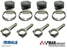 MAHLE forged pistons Focus RS MK3 2.3 EcoBoost, 87.50 bore + BW Steel Con Rods
