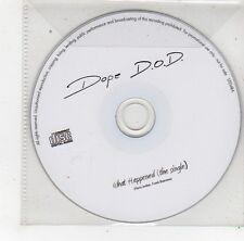 (FS335) Dope D.O.D., What Happened - DJ CD