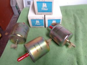 (3) NOS new Ford Lincoln Mercury 1980's 1990's Fuel Filters = E3FZ-9155-C Parts