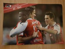 AZ Alkmaar v Ajax Amsterdam 22-01-2012 paper hand clapper / voetbalklapper