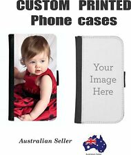 Samsung Galaxy S8+ PLUS Photo custom PRINTED Leather Flip Phone Cover Case