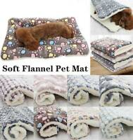 Haustierhund Welpen Haustier Plüsch Decke Cat Decke Schlafen Weich Bett Mat je