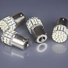 4Pcs DC 12V Ba15s 1156 50 SMD Bright White Car Turn Light Signal LED Bulb Lamp