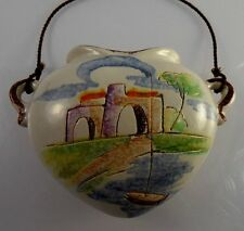 New listing Germany Art Pottery 313 Planter Hand Painted Wall Hanging