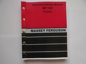 Massey Ferguson MF135 Workshop Service Manual