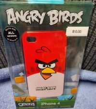 NEW IN BOX iPhone 4 4s ANGRY BIRDS CASE RED GEAR4 ICAB401US SLIM FIT FULL ACCESS