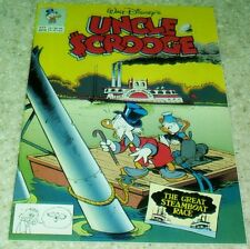 Walt Disney's Uncle Scrooge 277, NM- (9.2) The Great Steamboat Race!
