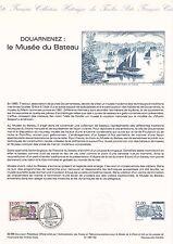 Document Philatélique Timbre 1er Jour : 23/07/ 1988 - Musée du Bateau Douarnenez