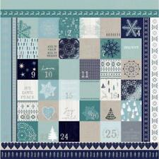 "Kaisercraft - Wonderland 12x12"" s/sided foil specialty paper ADVENT"
