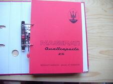 Werkstatthandbuch  MASERATI  Quattroporte V6 deutsch  francais Manuel Reparation