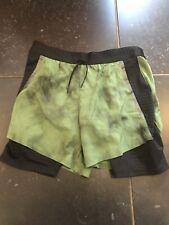 Nike Tech Pack 2 In 1 Shorts Green Black Running Men's Size Medium