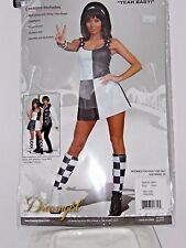 Size Small Women's Go Go 60's Mini Dress Austin Power Costume Cosplay Halloween