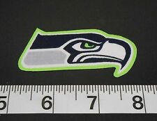 FREE SHIPPING NFL Seattle Seahawks Iron On Fabric Applique Patch Logo DIY Craft