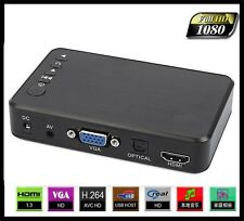 New Full HD 1080P USB External HDD Media Player with HDMI VGA SD Support MKV
