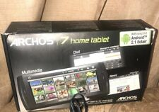 Archos 7 8GB Home Tablet V2 MP4/MP3/Photo Viewer (501673) With Extras