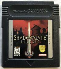 Shadowgate Classic (Nintendo, GameBoy, GB, 1999, NTSC) Canadian