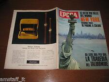 EPOCA 1962/634=NEW YORK=GUGLIELMO MARCONI=ANTONIO BALDINI=RENATA TEBALDI=