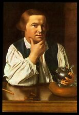 "VINTAGE 1963 ""PAUL REVERE"" HISTORICAL BOOK PAGE ART BY JOHN SINGLETON COPLEY"