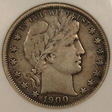 1900 Barber Half Dollar NGC VF-35