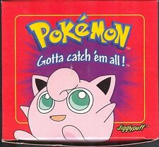 JIGGLYPUFF POKEMON 23K GOLD PLATED RED BOX BURGER KING POKEBALL FACTORY SEALED
