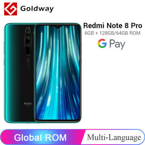 Global ROM Xiaomi Redmi Note 8 Pro 6GB 128GB/64GB Smartphone 64MP Quad Camera