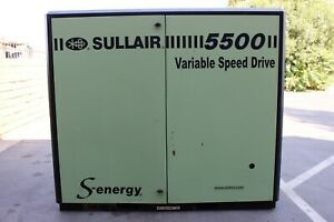 Sullair 5500 75-HP Base Mount Rotary Screw Air Compressor 3-PHASE