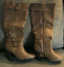 Justfab Tall Brown Boots