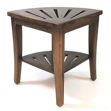 Redmon Genine Corner Shower Bench Made with Durable Genuine Teak Wood, 5326 New