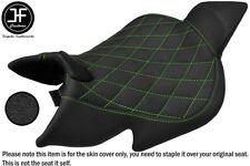 GRIP VINYL GREEN DIAMOND ST CUSTOM FITS BENELLI 1130 TNT 04-15 FRONT SEAT COVER