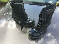 Dr Martens Darcie black patent leather UK 6 EU 39