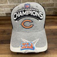 Chicago Bears 2006 Conference Champions Hat - Super Bowl XLI Reebok Cap NFL 41