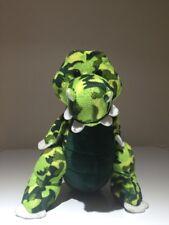Webkinz Camo Croc  Camouflage Crocodile Plush Stuffed Animal No Online Code