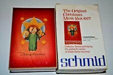 Schmid ANRI Christmas 1977 Berta Hummel Music Box - Italy - Deck the Halls