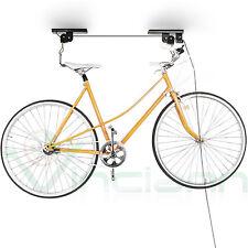 Supporto carrucola porta bici staffa gangio salva spazio appendi bicicletta SCB1