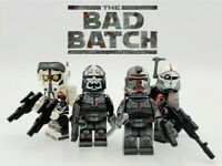 Bad Batch Star Wars The Clone Wars Minifigures Lot Force 99 USA SELLER