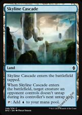 4 FOIL Skyline Cascade - Land Battle for Zendikar Mtg Magic Common 4x x4