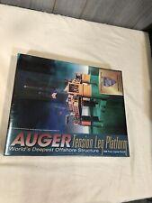 Auger Tension Leg SHELL OIL Platform 1000pc Puzzle Silver Enterprises NEW SEALED
