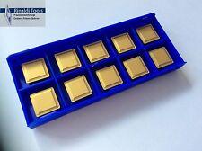 10 x tournant plaques SPMR 120308-hm pour acier p25-tin NEUF!!! Avec Facture!!!