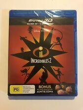 Incredibles 2 (Blu-ray, 2018, 3-Disc Set)