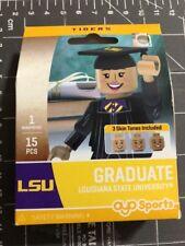 Oyo Sports Minifigure Louisiana State University LSU Graduate Alumni Lego Female