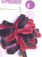 Gymboree Holiday Magic Line Hair Barrette Clips Snaps Black Red Christmas NWT Fa