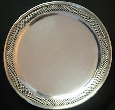 Tiffany & Co Sterling  Cake Dish 9 1/2""