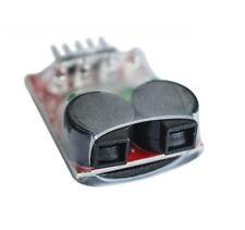 low voltage Alarm Buzzer 7.4V-14.8V 2S-4S Cell Lipo Battery Dual Speaker LED M
