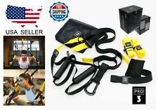 Suspension Trainer Home Gym Workout Professional Equipment Strength Training